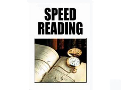 SPEED READING COURSE PDF